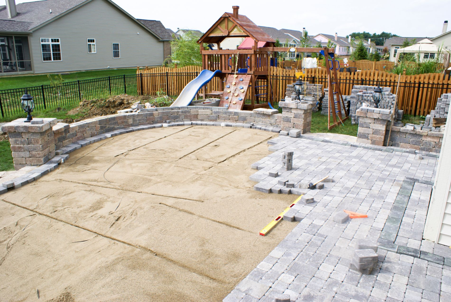 commercial paver contractor near houston texas